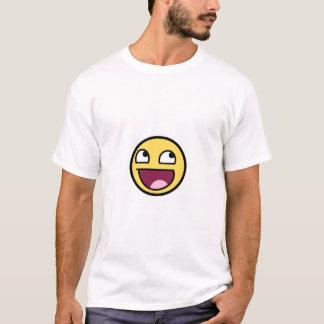 T-shirt Smiley impressionnant