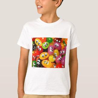 T-shirt Smiley mignons de dragée à la gelée de sucre