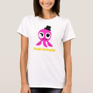T-shirt snob de filles de poulpe