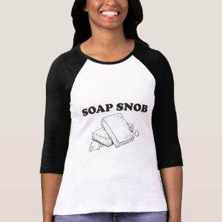 T-shirt Snob de savon