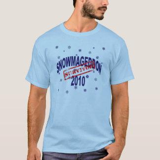 T-shirt snowmageddon 2010