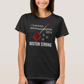 T-shirt Snowmageddon Boston
