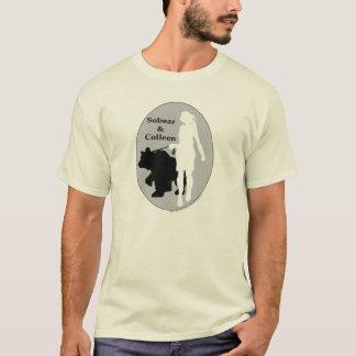 T-shirt Sobear et Colleen (sobre et propre)