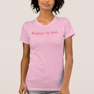 T-shirt Sobre est chaud