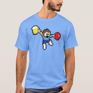 T-shirt social à 8 bits épique de Dodgeball