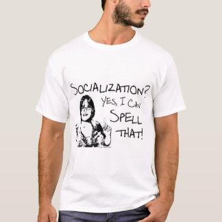T-shirt Socialisation d'orthographe
