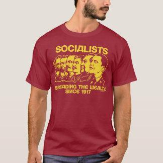 T-shirt Socialistes : Propagation de la richesse