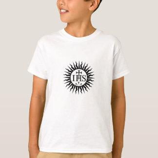 T-shirt Société de logo de Jésus (jésuites)