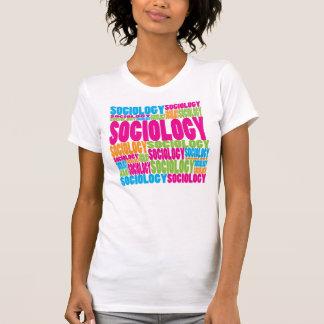 T-shirt Sociologie colorée