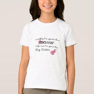 T-shirt Soeur de vedette du rock grande