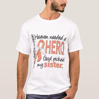 T-shirt Soeur utérine de Cancer de héros nécessaire de