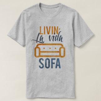 T-shirt Sofa de vida de La de Livin
