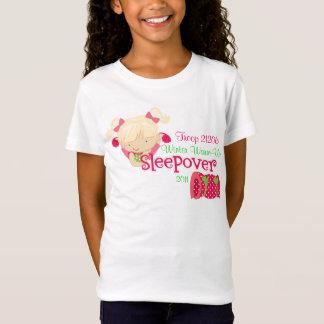 T-Shirt Soirée pyjamas de fille