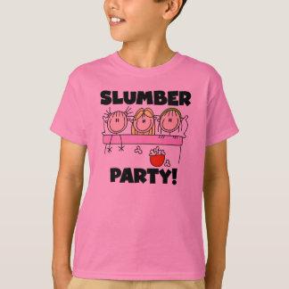 T-shirt Soirée pyjamas de filles