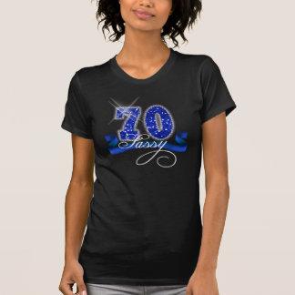 T-shirt Soixante-dix étincelle impertinente ID191