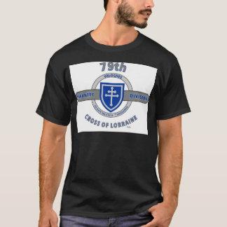 """T-shirt soixante-dix-neuvième DIVISION d'INFANTERIE """"CROIX"""