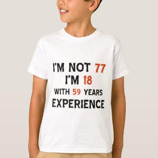 T-shirt soixante-dix-septième conceptions fraîches