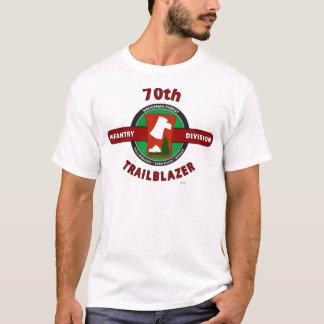 """T-shirt soixante-dixième DIVISION d'INFANTERIE """"PIONNIER """""""