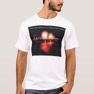 T-shirt soixante-quinzième Anniversaire de golden gate