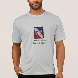 T-shirt soixante-quinzième Chemise courante d'équipe de