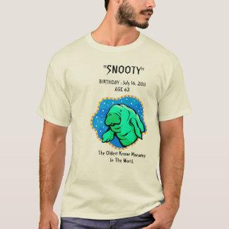 T-shirt Soixante-troisième anniversaire de lamantin