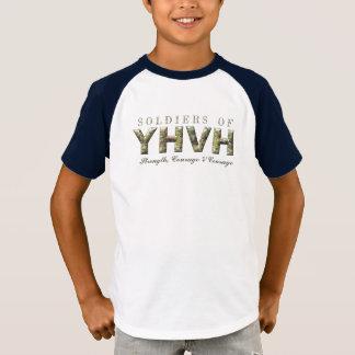 T-shirt SOLDATS de chrétien de YHVH