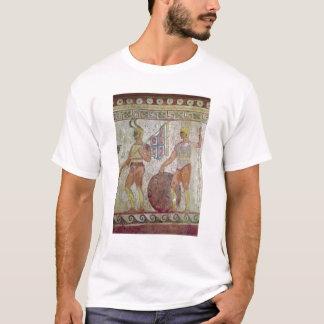 T-shirt Soldats d'infanterie, peinture de tombe de Paestum