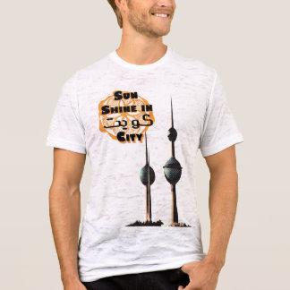 T-shirt Soleil dans la ville du Kowéit par DB