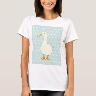 T-shirt solo de cool de canard