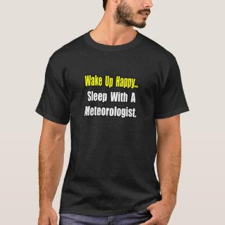 T-shirt Sommeil avec un météorologiste