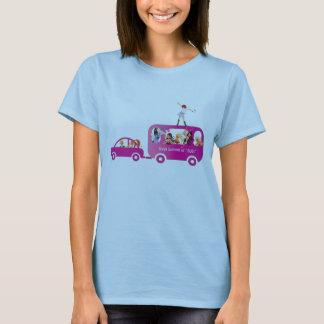T-shirt Sommet d'IVAA sur l'autobus