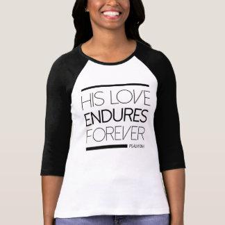 T-shirt Son amour supporte pour toujours la chemise