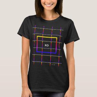 T-shirt Son champ électrique XO d'amour étreint et