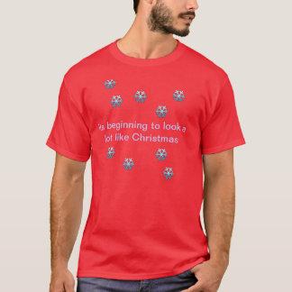 T-shirt Son début à ressembler beaucoup à Noël
