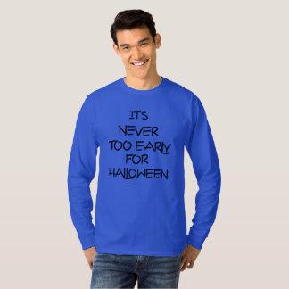 T-shirt Son jamais trop tôt pour la chemise de costume de