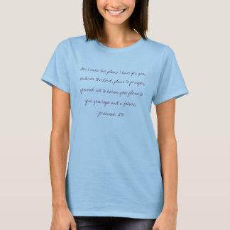 T-shirt Son mot est vérité - 29:11 de Jérémie