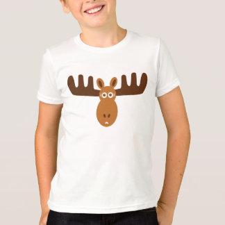T-shirt Sonnerie de bleu de Head_kids d'orignaux
