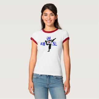 T-shirt sonnerie martiale coréenne du l'Art-Taekwondo
