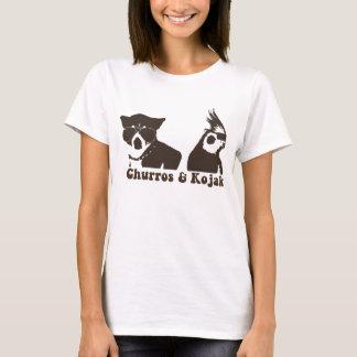 T-shirt Sonnerie T de Churros et de Kojak