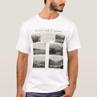 T-shirt Sonoma, la Californie 2