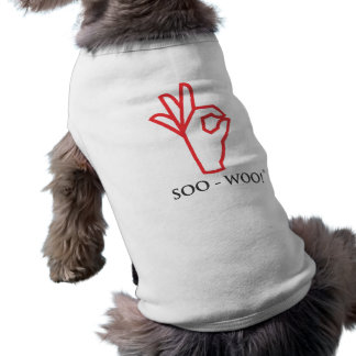 T-shirt SOO-WOO ! Habillement d'animal familier