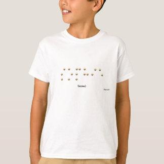 T-shirt Sophie dans le braille