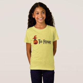 """T-Shirt Sorcière de Sphynx Halloween """"trop de spectre trop"""