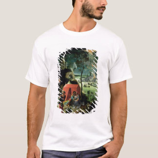 T-shirt Sort et ses filles (huile sur le panneau)