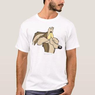 T-shirt Sort malheureux d'E. Coyote Impending de Wile