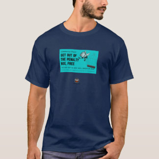 T-shirt Sortez de la carte libre de surface de réparation