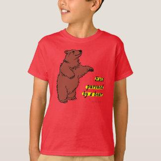 T-shirt : Sortez poursuivi par un ours