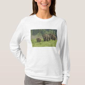 T-shirt Sortir de famille d'éléphant d'Asie