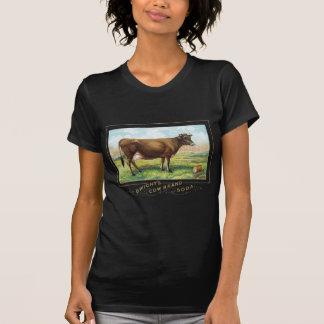 T-shirt Soude de marque de la vache de Dwight