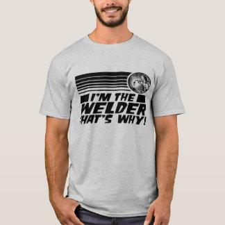 T-shirt Soudeuse drôle
